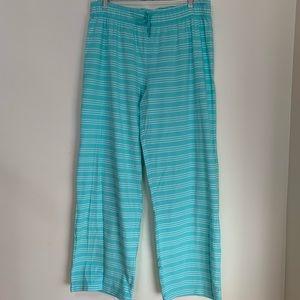 Gilligan & O'Malley Striped Pajama Bottoms